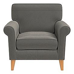 Debenhams - Natural grain leather 'Arlo' armchair