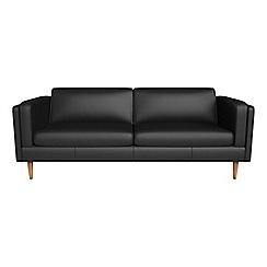 Debenhams - 4 seater luxury leather 'Lille' sofa