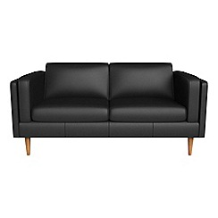 Debenhams - 2 seater luxury leather 'Lille' sofa