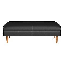 Debenhams - Luxury leather 'Lille' footstool