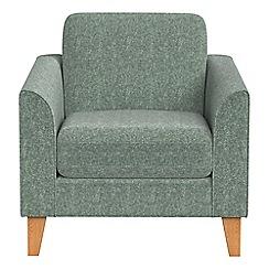 Debenhams - Chenille 'Carnaby' armchair