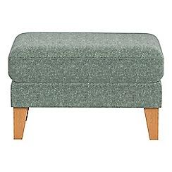 Debenhams - Chenille 'Carnaby' footstool