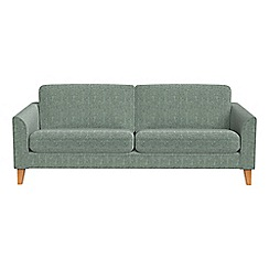 Debenhams - 3 seater chenille 'Carnaby' sofa bed