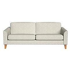 Debenhams - 4 seater textured weave 'Carnaby' sofa
