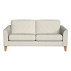 Debenhams - 2 seater textured weave 'Carnaby' sofa