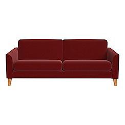 Debenhams - 4 seater velvet 'Carnaby' sofa