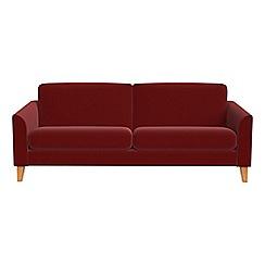 Debenhams - 3 seater velvet 'Carnaby' sofa