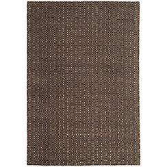 Debenhams - Chocolate 'Ives' rug