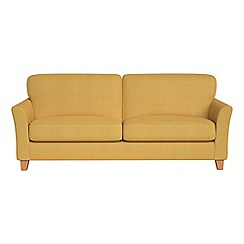 Debenhams - 4 seater tweedy weave 'Broadway' sofa
