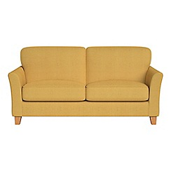 Debenhams - 2 seater tweedy weave 'Broadway' sofa