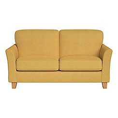 Debenhams - Small 2 seater tweedy weave 'Broadway' sofa