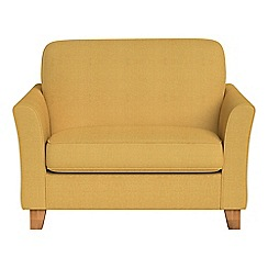 Debenhams - Tweedy weave 'Broadway' loveseat