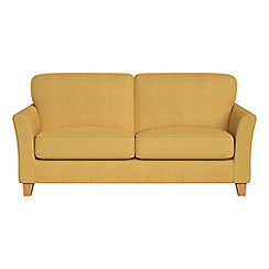 Debenhams - 2 seater tweedy weave 'Broadway' sofa bed