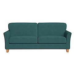 Debenhams - 4 seater velour 'Broadway' sofa