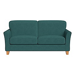Debenhams - 2 seater velour 'Broadway' sofa