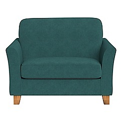 Debenhams - Velour 'Broadway' loveseat