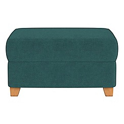 Debenhams - Velour storage footstool