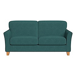 Debenhams - 2 seater velour 'Broadway' sofa bed