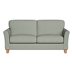 Debenhams - 2 seater textured weave 'Broadway' sofa