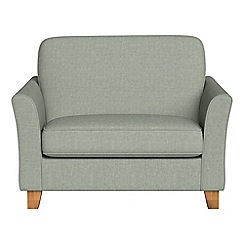 Debenhams - Textured weave 'Broadway' loveseat