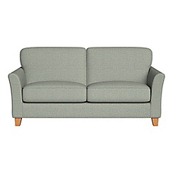 Debenhams - 2 seater textured weave 'Broadway' sofa bed