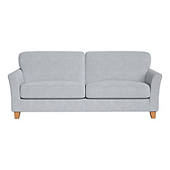 Debenhams - 4 seater brushed cotton 'Broadway' sofa
