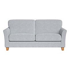 Debenhams - 3 seater brushed cotton 'Broadway' sofa