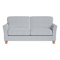 Debenhams - 2 seater brushed cotton 'Broadway' sofa