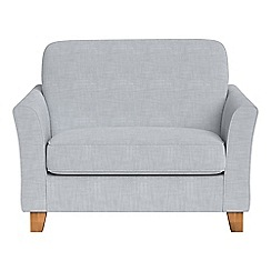 Debenhams - Brushed cotton 'Broadway' loveseat