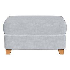 Debenhams - Brushed cotton storage footstool