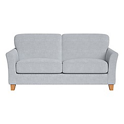 Debenhams - 2 seater brushed cotton 'Broadway' sofa bed