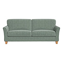 Debenhams - 4 seater chenille 'Broadway' sofa