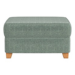 Debenhams - Chenille storage footstool