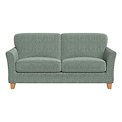 Debenhams - 2 seater chenille 'Broadway' sofa bed