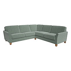 Debenhams - Large chenille 'Broadway' corner sofa