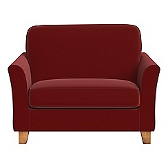 Debenhams - Velvet 'Broadway' loveseat