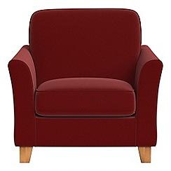 Debenhams - Velvet 'Broadway' armchair