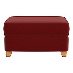 Debenhams - Velvet storage footstool