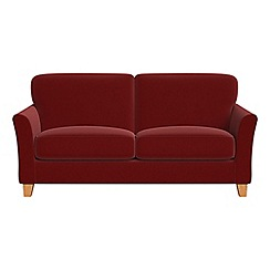 Debenhams - 2 seater velvet 'Broadway' sofa bed