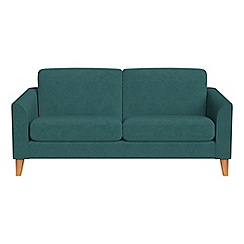 Debenhams - 2 seater velour 'Carnaby' sofa