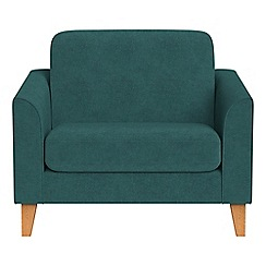 Debenhams - Velour 'Carnaby' loveseat
