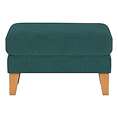Debenhams - Velour 'Carnaby' footstool