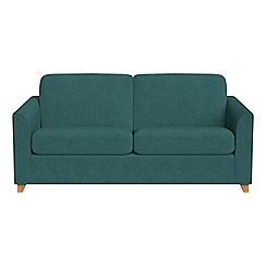 Debenhams - 3 seater velour 'Carnaby' sofa bed