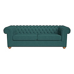 Debenhams - 4 seater velour 'Chesterfield' sofa bed