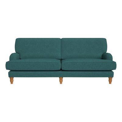Debenhams   4 Seater Velour 'eliza' Sofa by Debenhams
