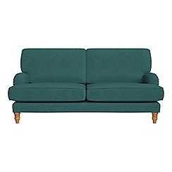 Debenhams - 3 seater velour 'Eliza' sofa