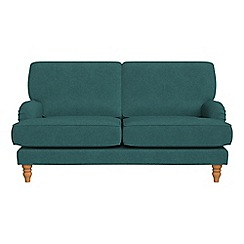 Debenhams - 2 seater velour 'Eliza' sofa