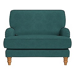 Debenhams - Velour 'Eliza' loveseat