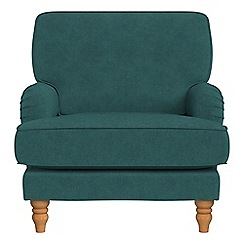 Debenhams - Velour 'Eliza' armchair