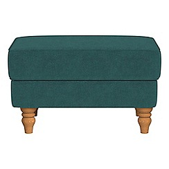 Debenhams - Velour 'Eliza' footstool